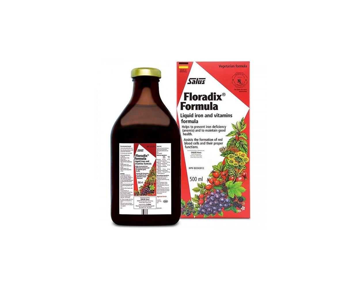 Salus Haus Floradix Liquid Formula 500ml